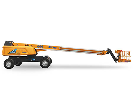 XCMG 34m aerial work platform XGS34 Hydraulic articulated boom lift