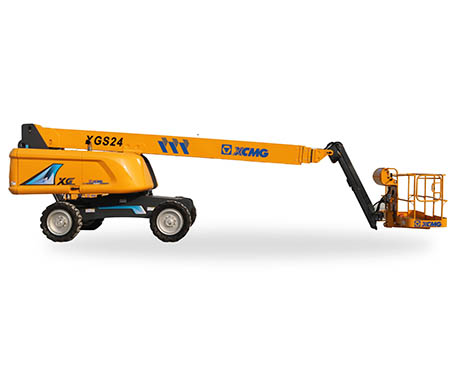 XCMG 24m aerial work platform XGS24 Hydraulic articulated boom lift
