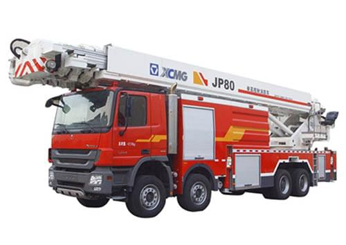 XCMG 80m Water Tower Fire Truck JP80