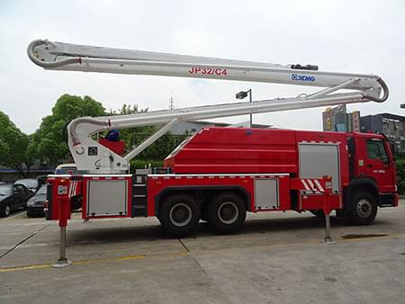 XCMG Official 32m Water Tower Fire Truck JP32C4