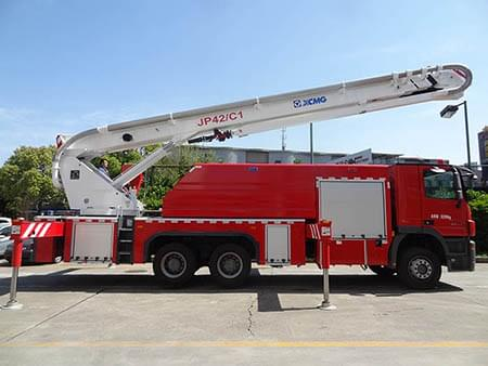 XCMG Official 42m Water Tower Fire Truck JP42C1