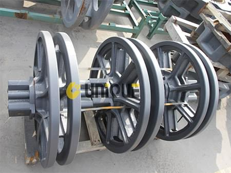 XCMG Crawler crane parts Travel guide wheel