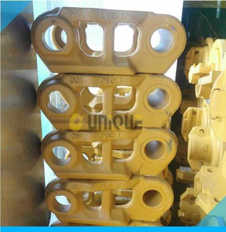 Bulldozer parts  Single link of chain rail combination