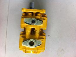 Bulldozer parts Double pump