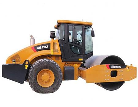 XCMG 20 ton vibratory road roller XS203 new road roller machine