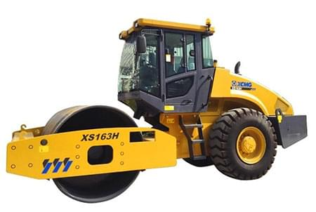 XCMG 16ton full hydraulic single drive vibratory road roller compactor XS163H