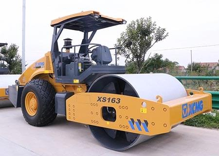 XCMG 14-16ton Hydraulic Single Drum Vibratory Road Roller, Vibratory Compactor XS163