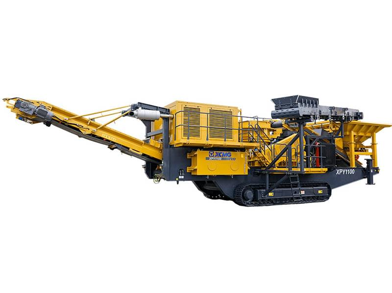 Movable cone crusher